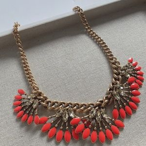 Stella & Dot | Coral Statement Necklace